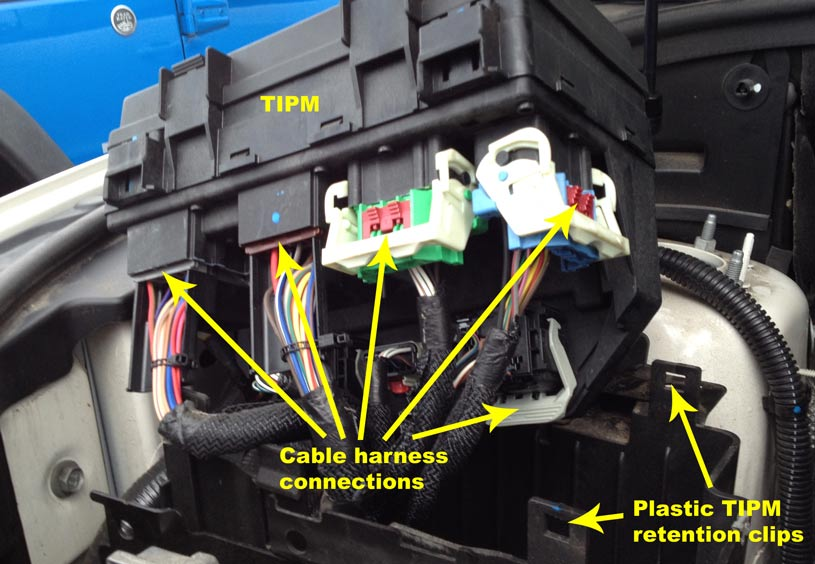 Tipm B on 2015 Chrysler 200 Battery