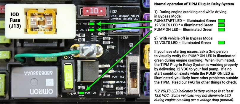 TIPM PCB Normal LED Illumination